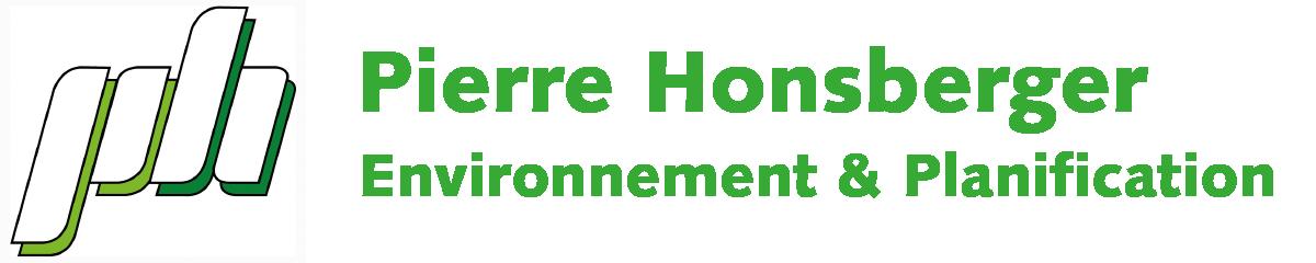 Pierre Honsberger Environnement et Planification